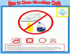 Cleaning Materials, Clean Microfiber, Fabric Softener, Washing Machine, Bleach, Household, Make It Yourself, Towels, Cloths