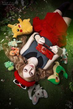 Serena (Pokemon X/Y) - Dream World by on DeviantArt Cute Cosplay, Amazing Cosplay, Best Cosplay, Pokemon Costumes, Pokemon Cosplay, Sexy Pokemon, Pokemon Fan, Ash Pokemon, Pokemon Bulbasaur