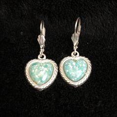Carolyn Pollack Sterling 925 Turquoise Earrings