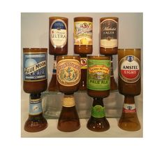 Scented Beer Bottle Candle Customize Your Own: by UReflections
