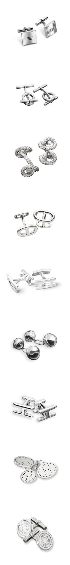Which pair of Hermes cufflinks do you like?