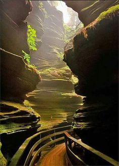 Witches Gulch, Wisconsin. USA