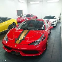 Some special toys in the @topazdetailing workshop #Ferrari #Speciale #Scuderia #599GTO #TopazDetailing #Shmee150