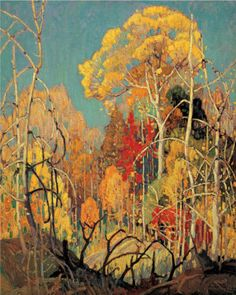 Autumn Orillia by Franklin Carmichael. Love the Group of Seven!