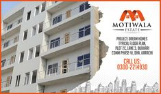 Project : Dream Homes Plot 2C,Lane 3,Bukhari Commercial Phase-VI, DHA Karachi. Mobile: +92-3002214930 http://motiwalaestate.com/dream-homes/  #Motiwalaestate #RealEstate #HomesForSale #DreamHomes