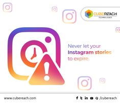 Your #Instagram Stories no longer have to disappear forever after 24 hours. Similar to Snapchat's memories feature, Instagram introduces a new feature that allows you to save your stories right on your profile. #InstagramUpdate #CubeReach
