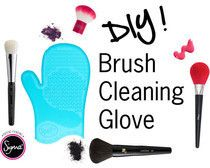 Diy Sigma Makeup Brush Cleaning Glove