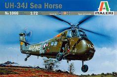 italeri uh-34j sea horse - Modeledo.pl