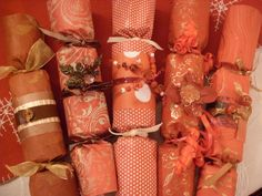 homemade christmas crackers - Google Search
