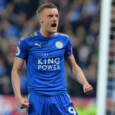 Leicester City and England striker Jamie Vardy has signed a new contract extension with former Premier League Champions Leicester. Jamie Vardy, Premier League Champions, King Power, Leicester, The 4, 4 Years, Sporty, Football, Signs
