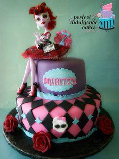 Monster High  Cake by PerfectIndulgence