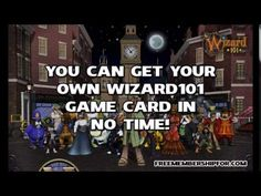 Visit: http://freemembershipfor.com/wizard101-free-membership-game-cards-codes/ to get your free Wizard101 membership for 2014!  Wizard101 has the most features out of any free online wizard game. Having a Wizard101 membership for 2014 unlocks all of the great features in the Spiral! You can access any area without having to pay crowns to go there.