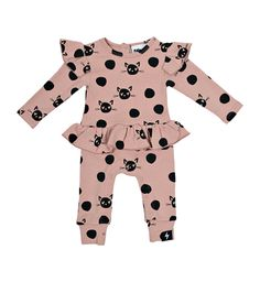 Kapow Spot the Cat All In one - Dusty Rose Teen Girl Outfits, Outfits For Teens, Baby All In One, Rose Clothing, Weekend Is Over, Dusty Rose, Girls Dresses, June, Clothes