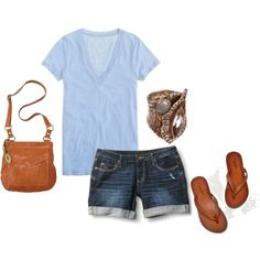 This is basically what I wear on a daily basis (substitute jeans for colder months) minus that ring.
