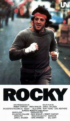 And remember this guy? Of course you do! Everyone gets inspired by the Rocky Balboa saga and listening to Rocky tunes during a work out ...