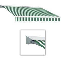 Awntech Beauty-Mark Destin 20' Motorized Retractable Awning, White