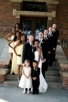 Mixed families are more accepted in today's society. Interracial Family, Interracial Marriage, Interracial Wedding, Interacial Love, Interacial Couples, Interacial Families, Black Woman White Man, Black And White Love, Black Men