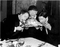 Three Stooges Moe Howard, The Three Stooges, Vintage Thanksgiving, Larry, Third, Image