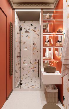 Modern home design – Home Decor Interior Designs Bathroom Design Luxury, Bathroom Design Small, Home Room Design, House Design, Funky Bathroom, Bathroom Colors, Ideas Baños, Beautiful Bathrooms, Modern Interior Design