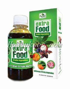 Extra Food HPAI – 21 Sayur dan Buah Dalam 1 Botol - Halal Mart HPAI – Jual Produk HPAI
