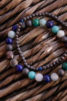 MĘSKA bransoletka BANGKOK Budda w kamieniach półszlachetnych   (id produktu: 513603)