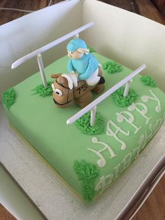Horse Racing Cake ~ Pony Club ~ Birthday Cake