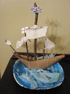 Craft for Thanksgiving or can incorporate the ship aspect into lessons for Columbus Day, History of Transportation or rainy day activity.