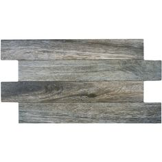 SomerTile 12.25x23.625-inch Moscu Cendre Porcelain Floor Tile ($101) ❤ liked on Polyvore featuring home, home improvement, flooring and grey