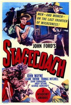Stagecoach 11x17 Movie Poster (1939)