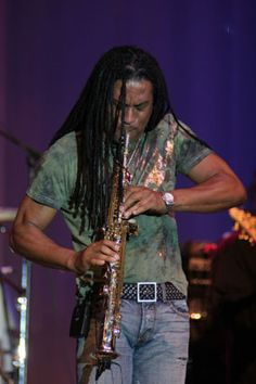 Marion Meadows on Sax