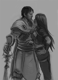 Sketch. Garen and Katarina -- or as I like to call them, Hottie McHothot and Kitty Katarina... mostly just to make my guy teammates uncomfortable... lol