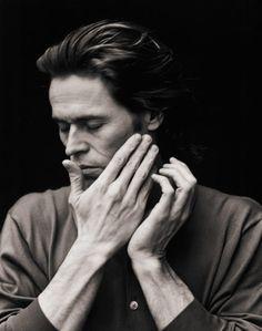 Willem Dafoe by Bill Phelps. Portrait Art, Portrait Photography, Gorgeous Men, Beautiful People, Willem Dafoe, Val Kilmer, Film Images, Celebrity Photography, Monochrom