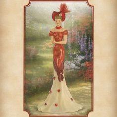 Thomas Kinkade Lady Figurines | visit ebay com