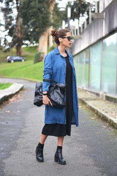 long denim jacket | stellawantstodie