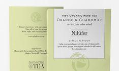 Corn Studio - Nilüfer Organic Herb Tea PACKAGING DESIGN World Packaging Design Society│Home of Packaging Design│Branding│Brand Design│CPG Design│FMCG Design