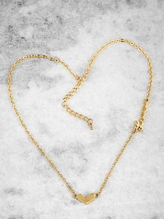 Adorn your neck with this adorable heart and love necklace and win over many hearts!