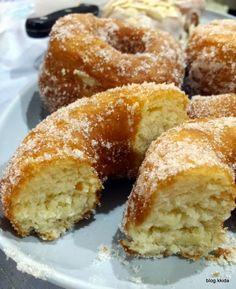 koleksi1001resepi: donut sedap... Beignets, Fritters, Doughnuts, Homemade, Kitchen, Desserts, Blog, Pastries, Greedy People