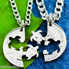 Hey, I found this really awesome Etsy listing at https://www.etsy.com/listing/118780882/turtle-necklace-friendship-necklaces