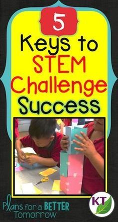 Blog and video post explaining the 5 most important things you need to know to conduct successful STEM challenges!