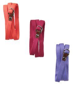 Aéropostale Solid Skinny Belts