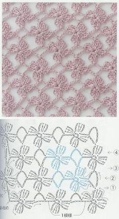 crochet flowers Crochet Flower Stitch Free Pattern – Check out these beautiful Crochet Flower Stitch Free Patterns and photo explanations that are provided in very details to crochet your own flower stitch. – Page 749216087995930314 – BuzzTMZ Crochet Stitches Free, Crochet Video, Diy Crafts Crochet, Crochet Lace Edging, Crochet Motifs, Crochet Diagram, Crochet Chart, Easy Crochet Patterns, Crochet Flowers