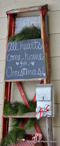 Welcome Home Tour, 12 Days of Christmas, Day 9, Front Porch Decor