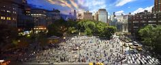 Incredible Composite Photos Show The Same Place By Day And Night