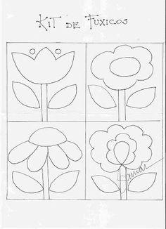 Applique Quilt Patterns, Applique Templates, Hand Applique, Felt Applique, Applique Designs, Embroidery Patterns, Owl Templates, Felt Patterns, Flower Applique