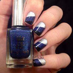 Instagram photo by rikiki_nailpolish    #nail #nails #nailart