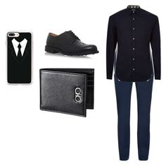 """""""Jays outfit"""" by lolo-cdx ❤ liked on Polyvore featuring Burberry, Church's, Casetify, men's fashion and menswear"""