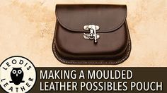 77545bf5f1d0 How To Make A Leather Tote Bag Without A Gusset Part 2 - YouTube
