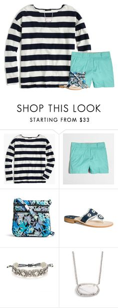 """""""In the midst of pain, let me feel Your joy!"""" by your-daily-prep ❤ liked on Polyvore featuring J.Crew, Vera Bradley, Jack Rogers, Stella & Dot and Kendra Scott"""
