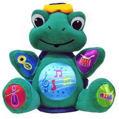 Baby Einstein Press Play Pal Plush Turtle Neptune musical Educational Playmate #BabyEinstein