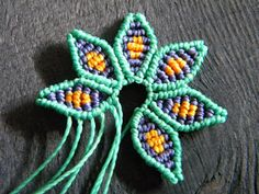 Forgottenstore.blogspot.com: Pattern Macrame Flower
